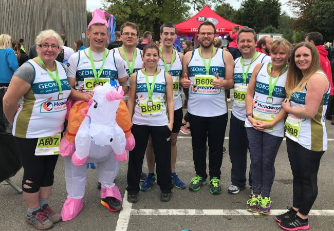 George Ide Headway Chichester Half Marathon